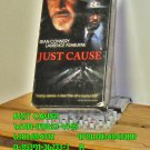 VHS - JUST CAUSE