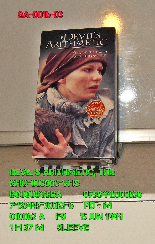 VHS - DEVIL'S ARITHMETIC, THE