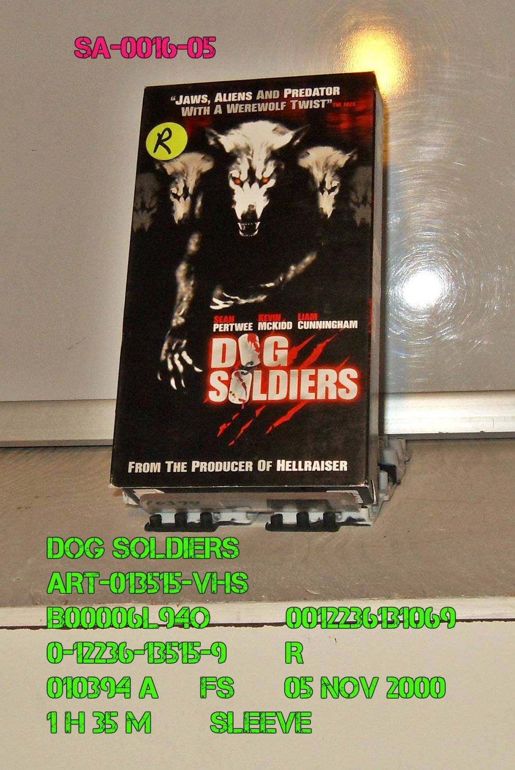 VHS - DOG SOLDIERS
