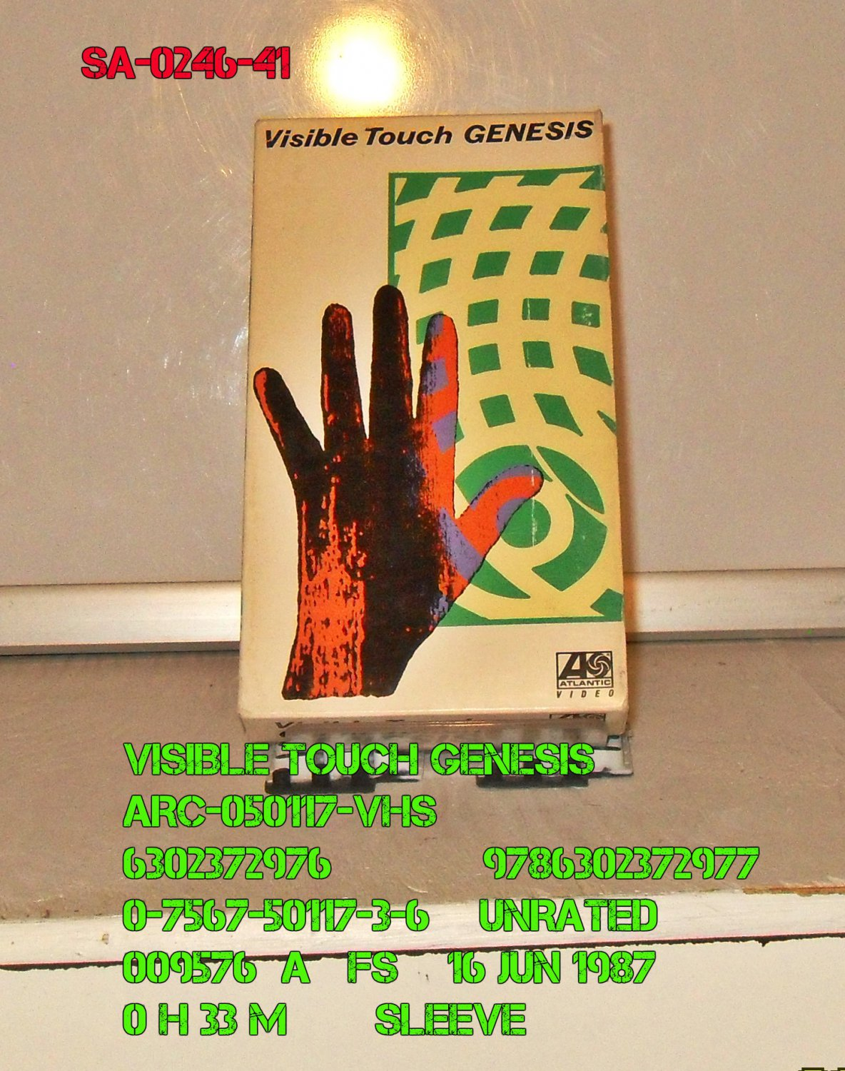 VHS - VISIBLE TOUCH GENESIS