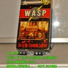 VHS - W.A.S.P. LIVE AT THE LYCEUM LONDON