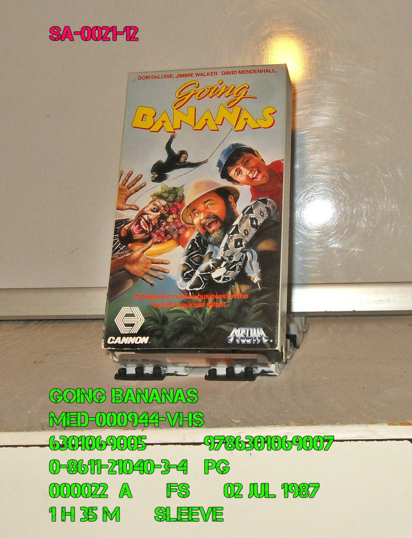 VHS - GOING BANANAS