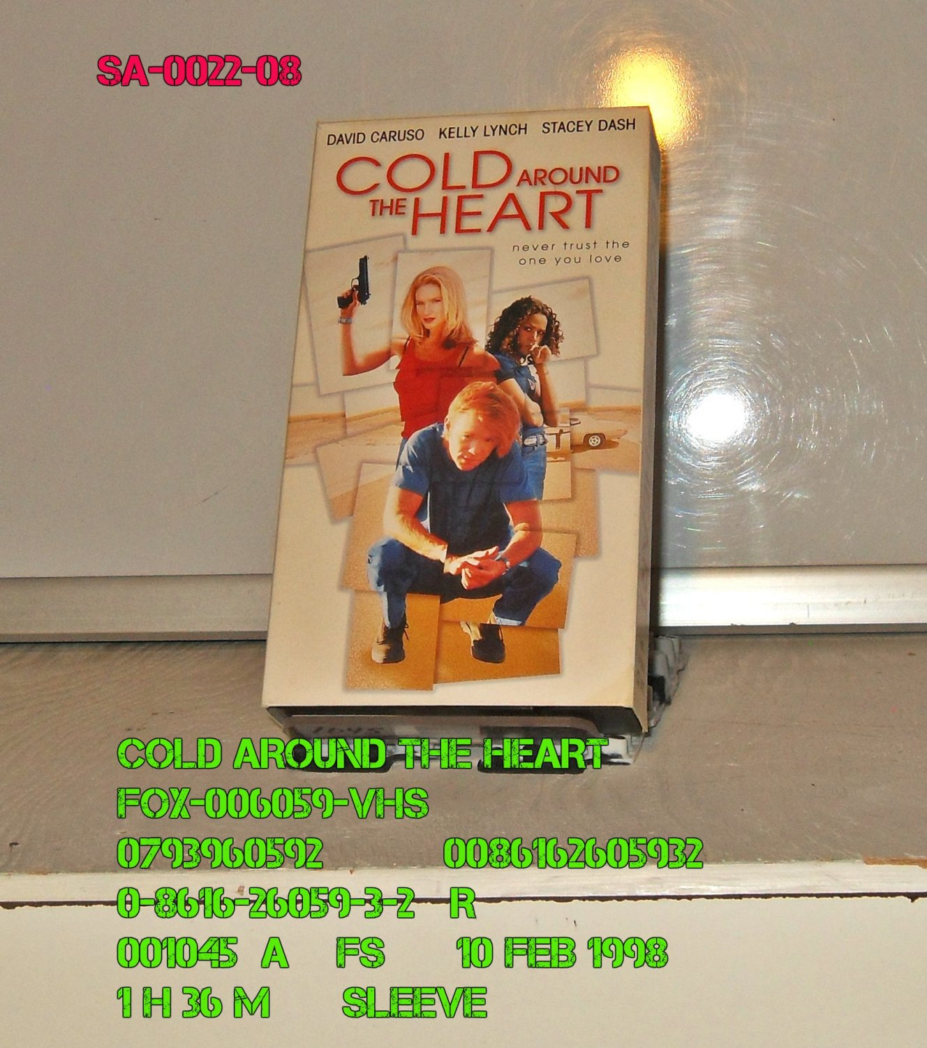 VHS - COLD AROUND THE HEART