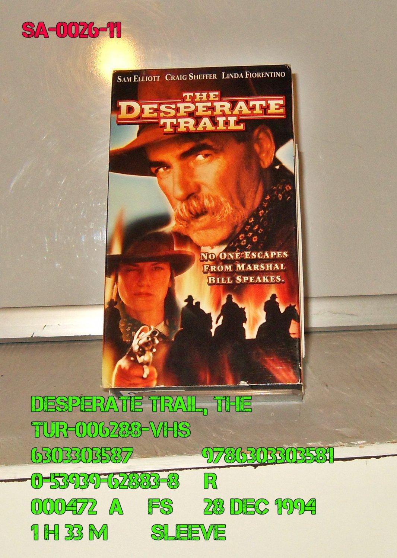 VHS - DESPERATE TRAIL, THE