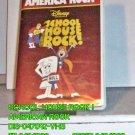 VHS - SCHOOL HOUSE ROCK - AMERICAN ROCK
