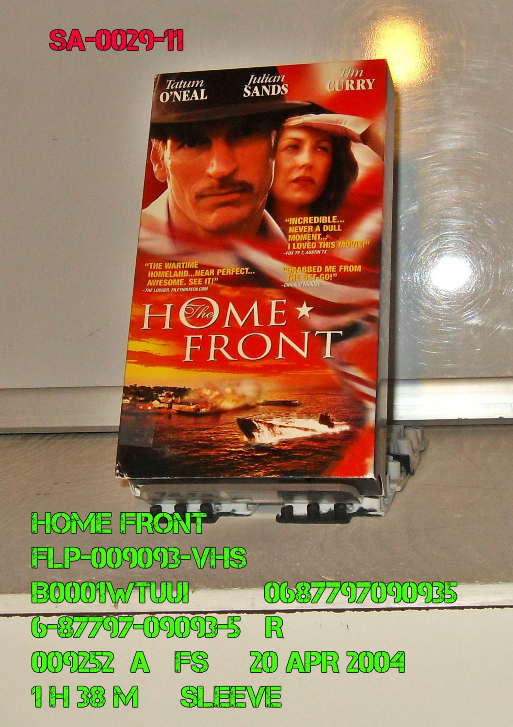 VHS - HOME FRONT