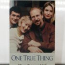 VHS - ONE TRUE THING