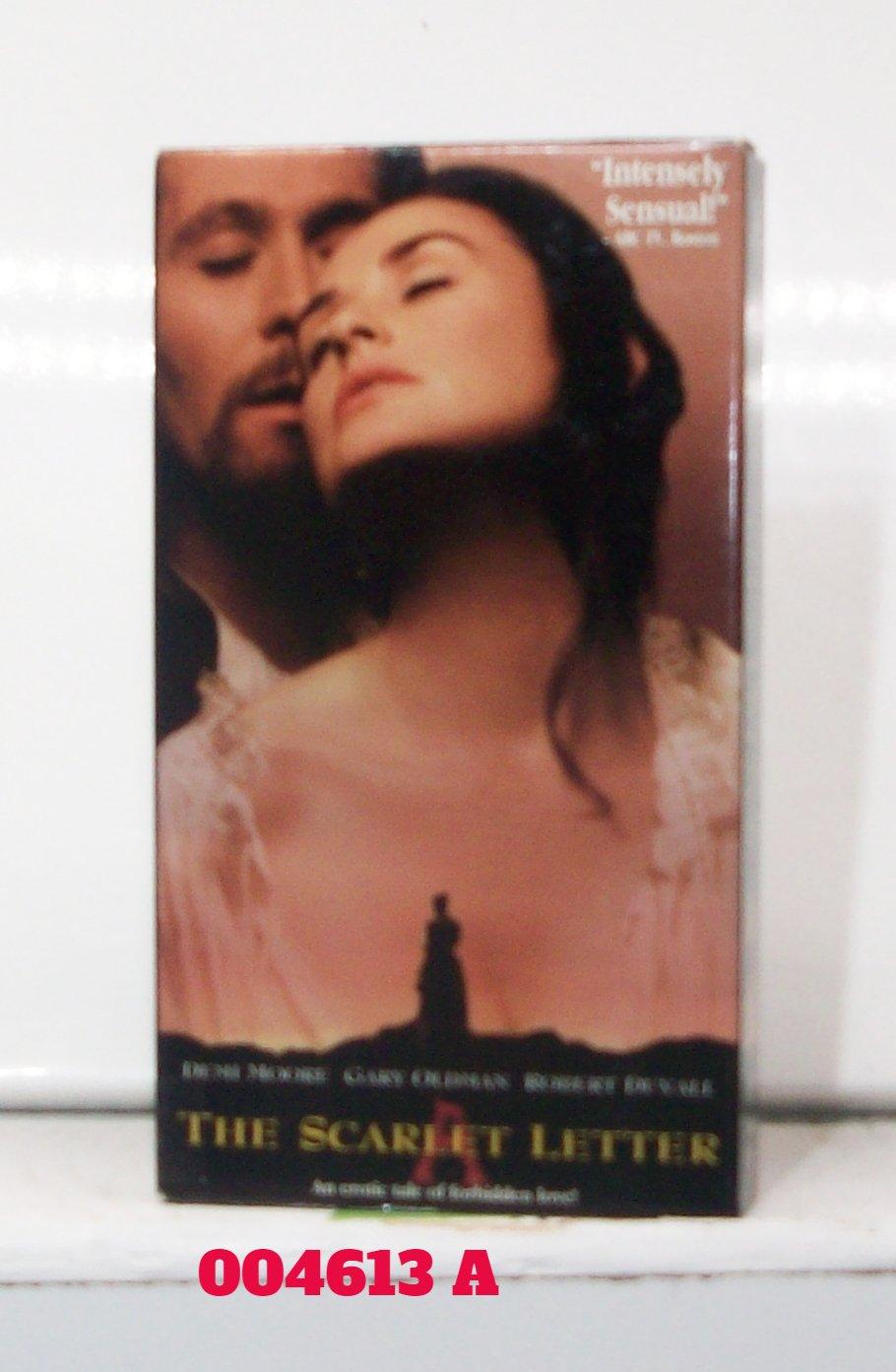 VHS - SCARLET LETTER, THE