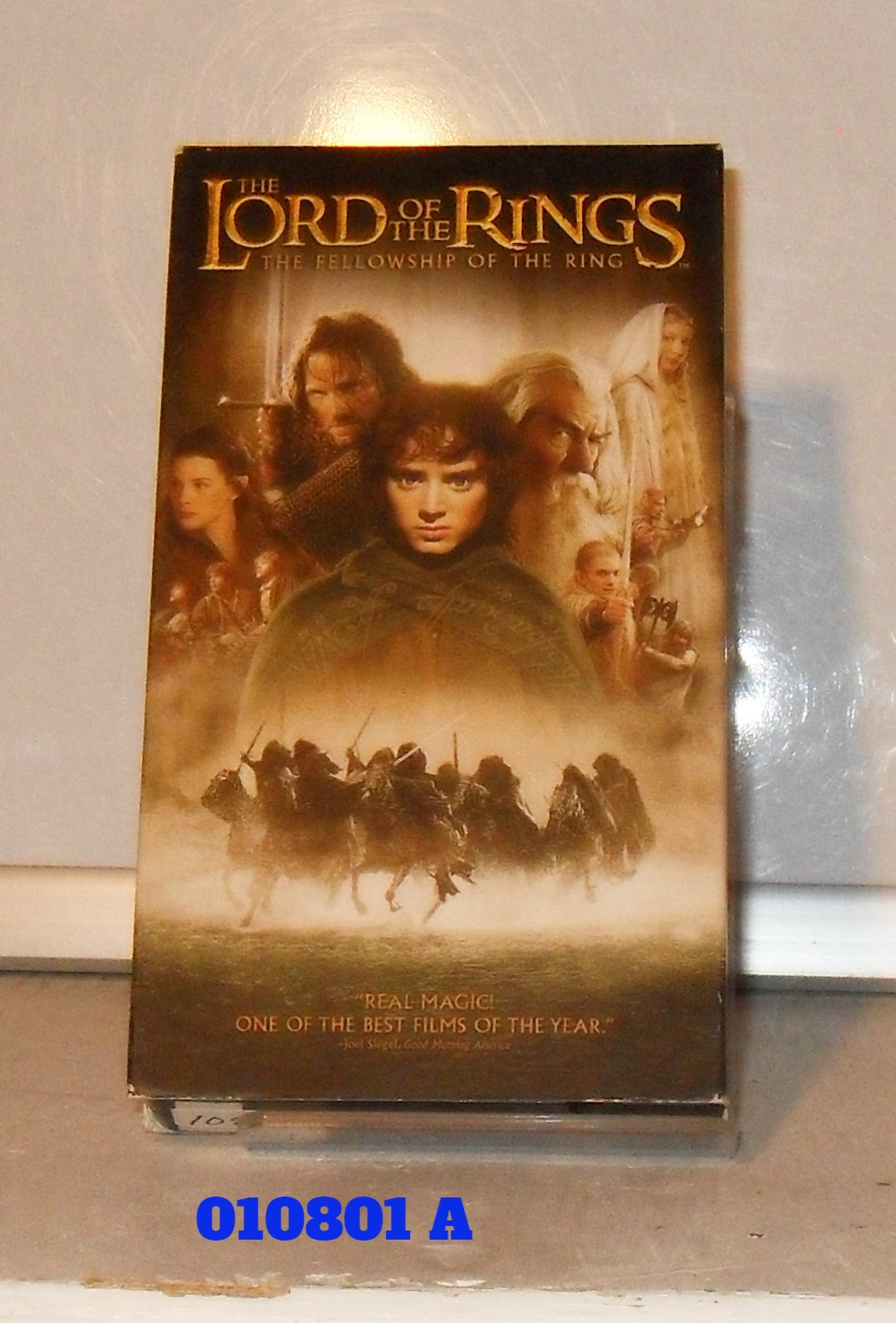 VHS - LORD OF THE RINGS  (01)  FELLOWSHIP OF THE RING, THE