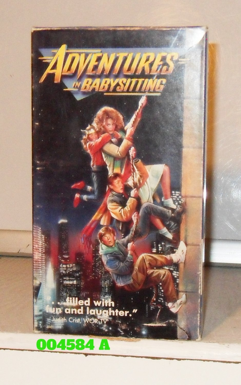 VHS - ADVENTURES IN BABYSITTING