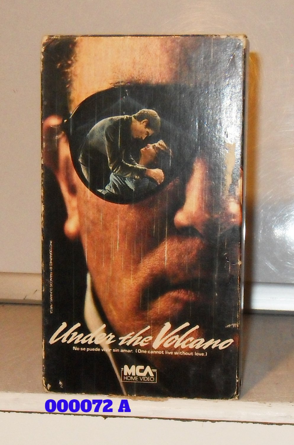 VHS - UNDER THE VOLCANO