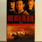 VHS - RIDE WITH THE DEVIL