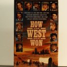 VHS - HOW THE WEST WAS WON