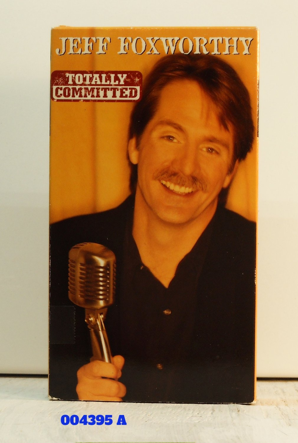 VHS - J. FOXWORTHY - TOTALLY COMMITTED