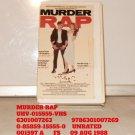 VHS - MURDER RAP