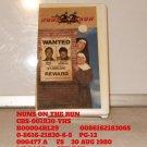 VHS - NUNS ON THE RUN