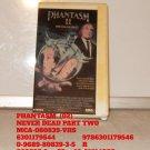 VHS - PHANTASM  (02)  NEVER DEAD PART TWO