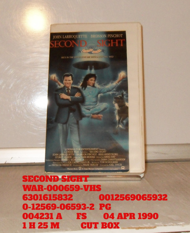 VHS - SECOND SIGHT