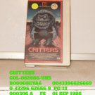VHS - CRITTERS