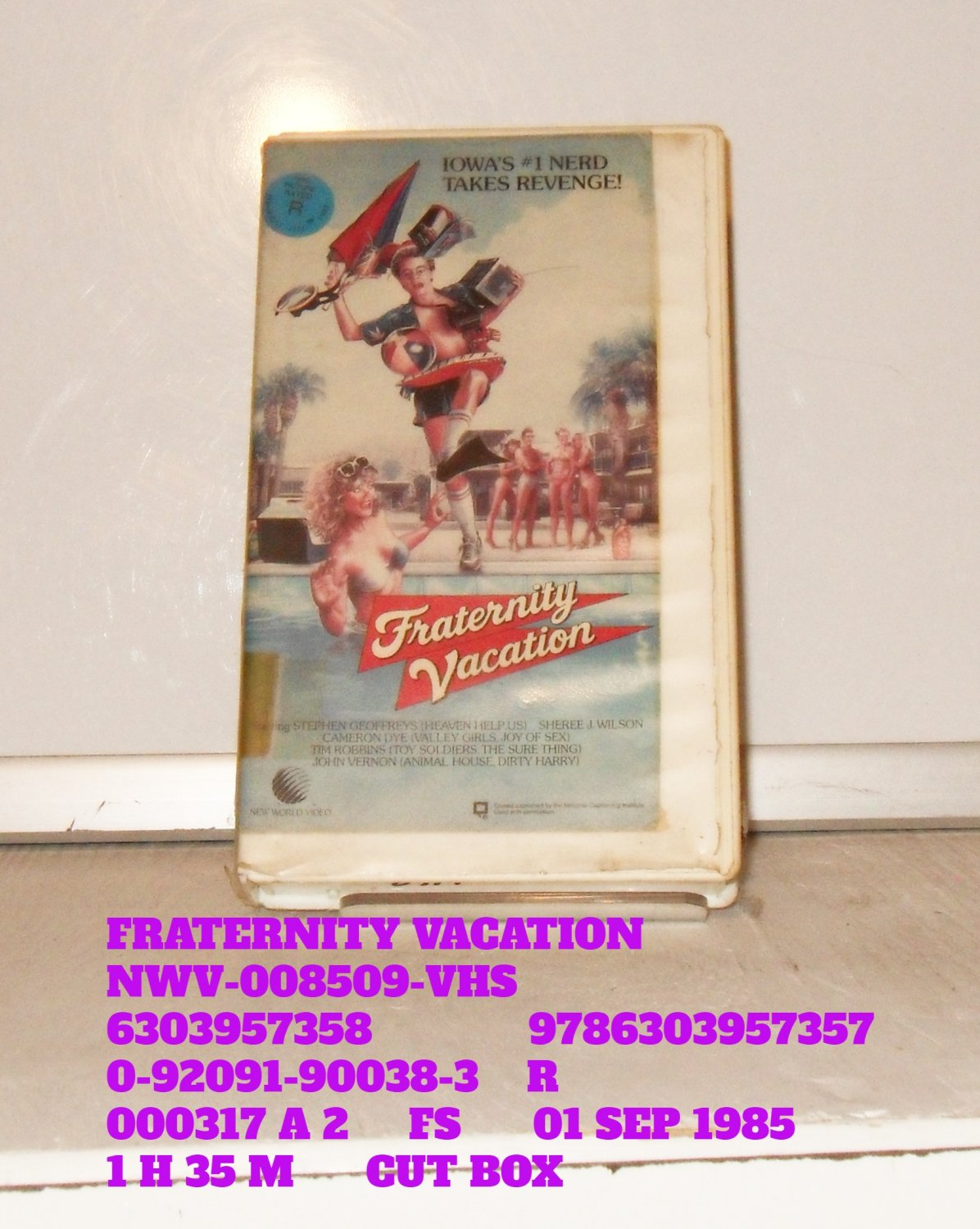 VHS - FRATERNITY VACATION