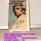VHS - TELL THEM WILLIE BOY IS HERE