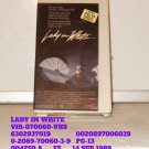 VHS -  LADY IN WHITE