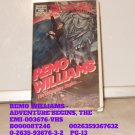 VHS - REMO WILLIAMS - ADVENTURE BEGINS, THE