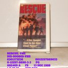 VHS - RESCUE, THE