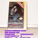 VHS - SLAUGHTERHOUSE ROCKS