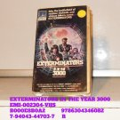 VHS - EXTERMINATORS IN THE YEAR 3000
