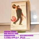 VHS - GREEN CARD