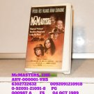 VHS - McMASTERS, THE
