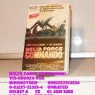 VHS - DELTA FORCE COMMANDO