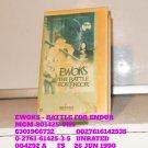 VHS - EWOKS - BATTLE FOR ENDOR