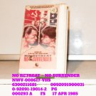 VHS - NO RETREAT ~ NO SURRENDER