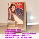 VHS - TEEN WOLF TWO
