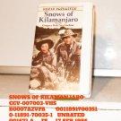 VHS - SNOWS OF KILIMANJARO