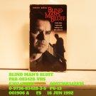 VHS - BLIND MAN'S BLUFF