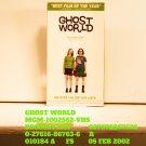 VHS - GHOST WORLD