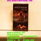 VHS - KING'S WHORE, THE