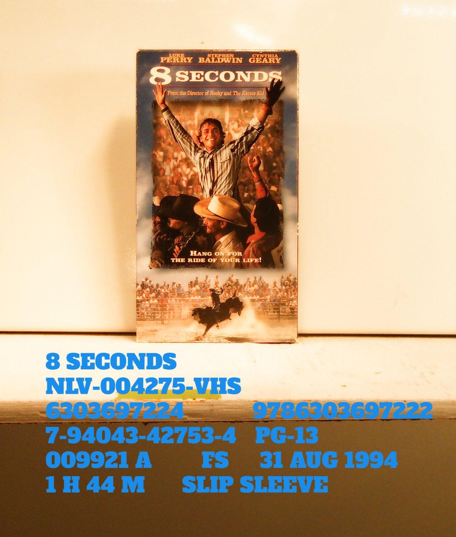 VHS - 8 SECONDS