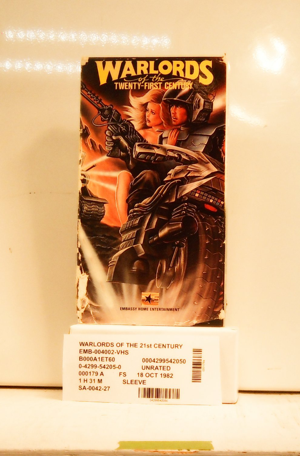 VHS - WARLORDS OF THE TWENTY FIRST CENTURY, THE