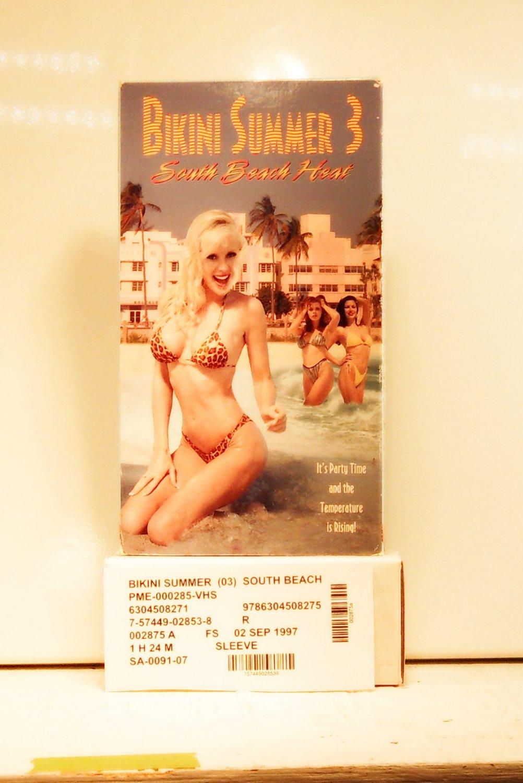 VHS - BIKINI SUMMER  (03)  SOUTH BEACH HEAT