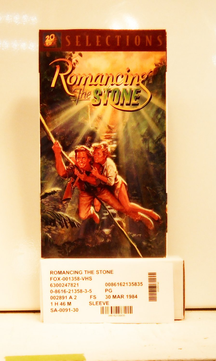 VHS - ROMANCING THE STONE