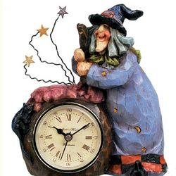 Resin Witch Clock