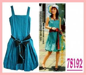 Korean & Japanese Style Dress