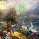 "Wizard of Oz - inspirated to Kinkade - 35.43"" x 22.14"" - Cross Stitch Pattern Pdf E196"