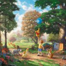 "Winnie the Pooh II - inspirated to Kinkade  - 35.43"" x 28.57"" - Cross Stitch Pattern Pdf C463"
