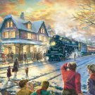 "All Aboard for Christmas - inspirated to Kinkade - 35.43"" x 22.14"" - Cross Stitch Pattern Pdf C456"