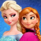 "Princesses Anna & Elsa - 19.71"" x15.57"" - Cross Stitch Pattern Pdf C322"